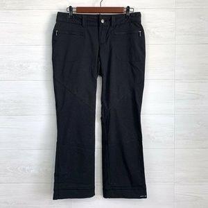 Columbia 6S Black Nylon Blend Hiking Pants
